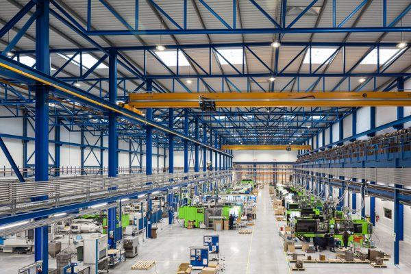 Injection machines area